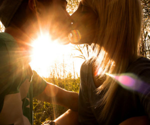 couple, lovely, and love image