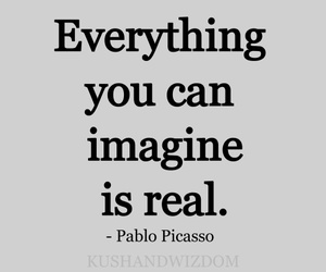 imagine, real, and quote image