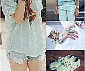 girl, pants, and pretty image