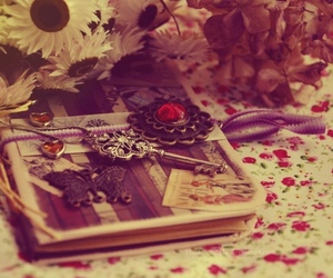 beautiful, book, and girly image