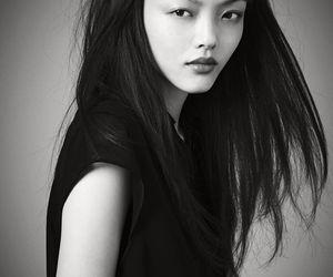 asian, cheek bones, and girl image