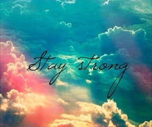 clouds, demi lovato, and stay strong image
