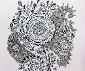 art, cool, and black and white image