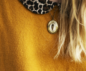 fashion, leopard, and mustard image