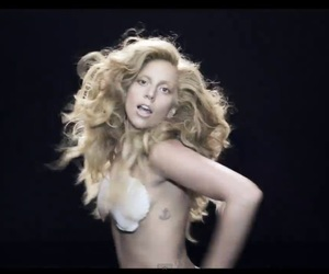 applause, Lady gaga, and video image
