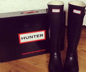 boots, fashion, and hunter image