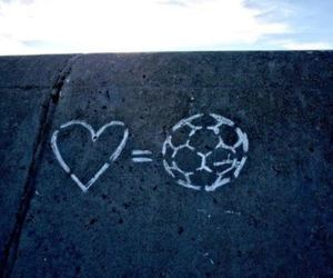 football, love, and heart image