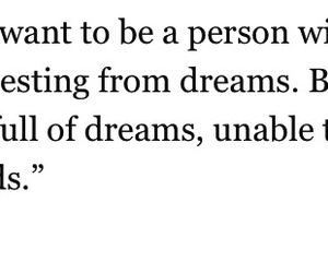 dreams, fact, and quote image