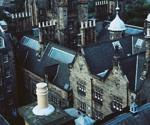 city, building, and scotland image
