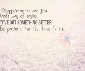 quotes, god, and disappointment image