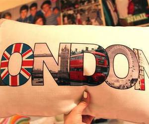 london, one direction, and pillow image