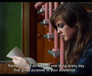Letter, movie, and purpose image