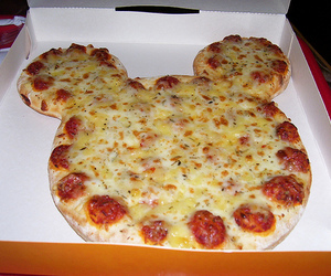 pizza, food, and disney image