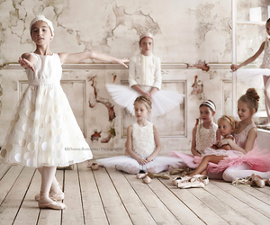 ballet, cute, and pink image