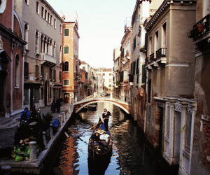 canals, europe, and italy image