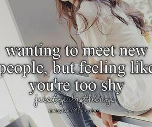 just girly things, shy, and shy girl image
