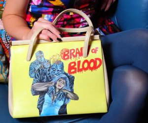 bag, blood, and colorful image