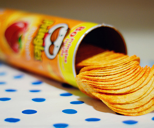 pringles, food, and chips image