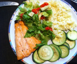anorexia, dinner, and food image