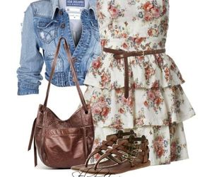 dress, style, and sweet image