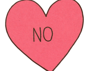 no and heart image