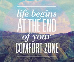quote, life, and comfort image