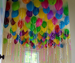 balloons, party, and love image