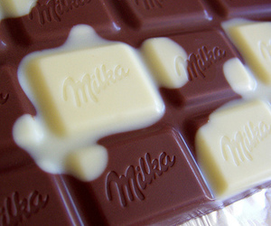 candy, chocolate, and milka image