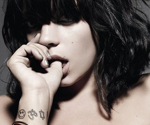 lily allen and tattoo image