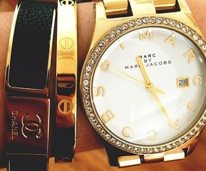 chanel, watch, and marc jacobs image