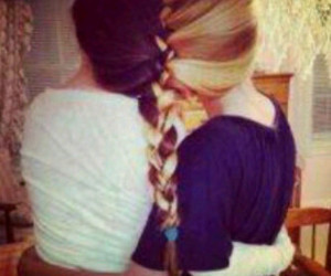 beautiful, braid, and forever image