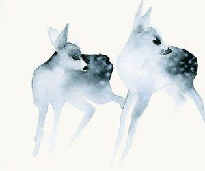 art and deer image