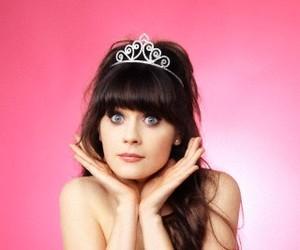 zooey deschanel, princess, and new girl image
