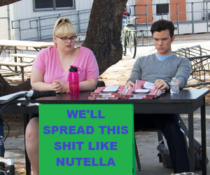 nutella, chris colfer, and struck by lightning image