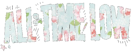 All time low logo colors