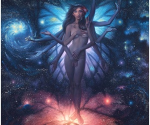 art, fantasy, and woman image