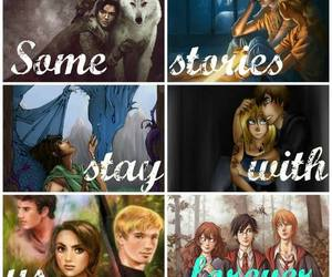harry potter, hunger games, and eragon image