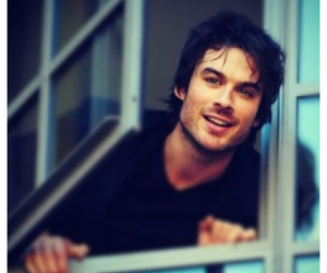 ian somerhalder, kiss, and the vampire diaries image