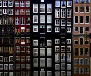 amsterdam, reflection, and river image