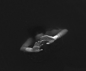 girl, water, and hands image