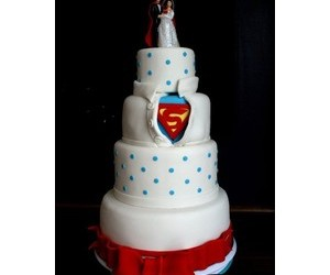 cake, creative, and superman image
