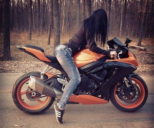 ass, motorbike, and sexy image