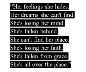 Avril Lavigne, Lyrics, and song image