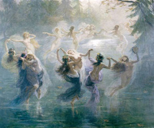 art, water, and dance image
