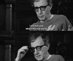 woody allen, fiction, and quotes image