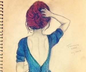 beautiful, hipster, and girl image