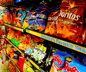 doritos, food, and Cheetos image
