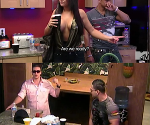 jersey shore, jenni, and funny image