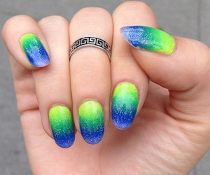 beautiful, girly, and nail art image