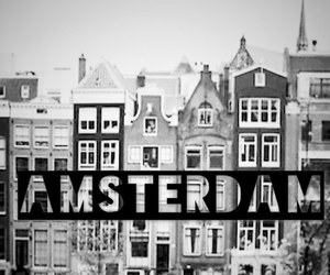 amsterdam, city, and black and white image
